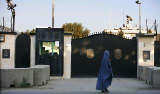 British embassy in Afghanistan