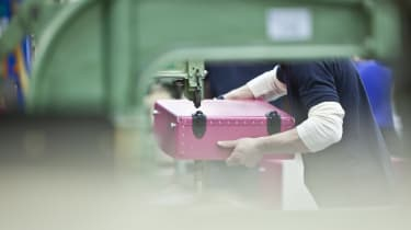 All Globe-Trotter cases are handmade in England