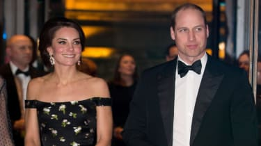 Kate and Will at the BAFTAs