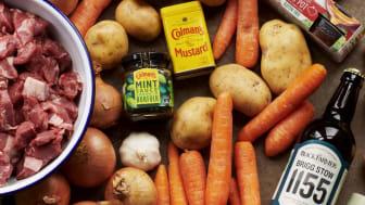 'Local legends' recipe box from Colman's and The Black Farmer