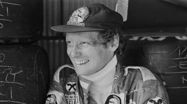 Austrian driver Niki Lauda was a three-time Formula 1 world champion