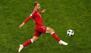 Christian Eriksen Denmark vs. Australia World Cup group C