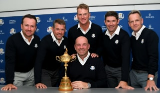 Team Europe Ryder Cup Thomas Bjorn captain vice-captains