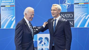 Joe Biden and Jens Stoltenberg