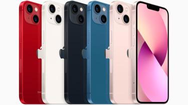 iPhone 13 and iPhone 13 mini come in five aluminium colours