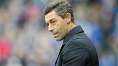 Pedro Caixinha of Rangers