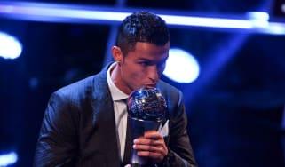Cristiano Ronaldo Fifa 'Best' player