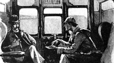 Sherlock Holmes and Dr. Watson in 'The Adventure of Sliver Blaze'