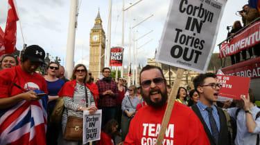 Labour Party Protest