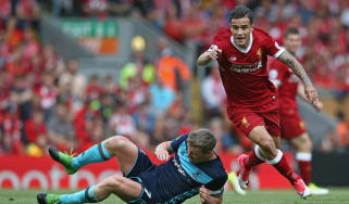 Philippe Coutinho of Liverpool