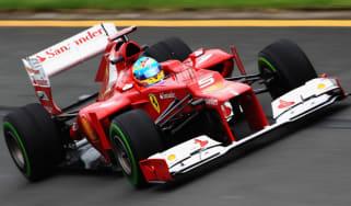 Fernando Alonso, Ferrari F1 driver