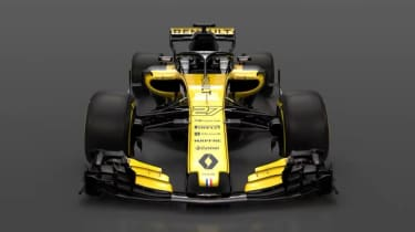 Renault Sport RS18 F1 2018 car launch