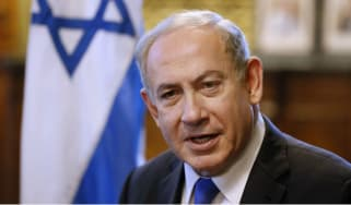 Benjamin Netanyahu during a visit to London earlier this year