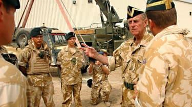 Prince Philip Iraq visit