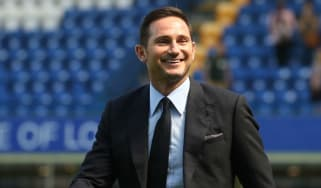 New Chelsea head coach Frank Lampard gets settled back in at Stamford Bridge