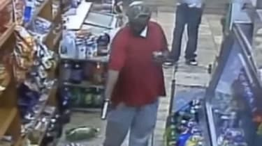 A convenience store shooting in the Bronx