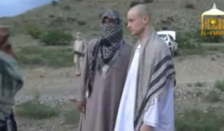 Taliban video showing Sgt Bowe Bergdahl being handed over to US forces
