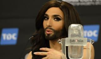 Austrian Eurovision winner Conchita Wurst