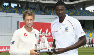 England captain Joe Root and West Indies skipper Jason Holder