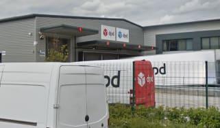 DPD depot in Feltham