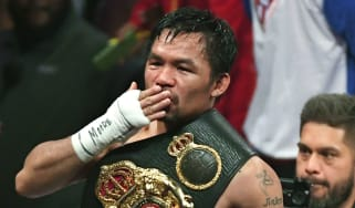 Filipino boxer Manny Pacquiao is the reigning WBA super welterweight champion