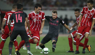 Aaron Ramsey Arsenal China
