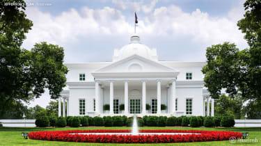 Alternative White House design