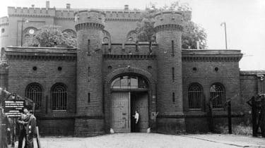 Spandau Prison in 1951 (Wikimedia Commons)
