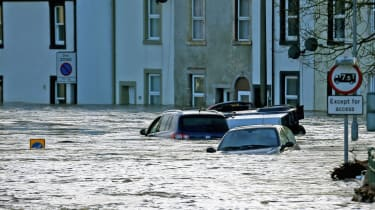 Labour's Jeremy Corbyn called for better flood defences and said cuts to emergency services have become a serious issue