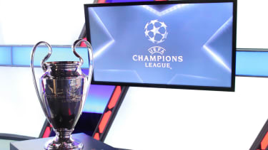 The Champions League last-16 draw was held at Uefa's headquarters in Nyon