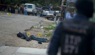 Latin America gun violence, crime, Honduras