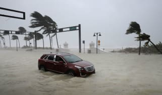 Hurricane Irma slammed into Florida causing $2bn (£1.5bn) in damage