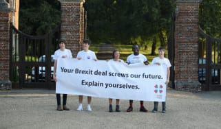 Our Future Our Choice, Youth, Young People, Millennials, Brexit, Chequers