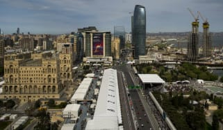 The Baku City Circuit hosts the F1 Azerbaijan Grand Prix