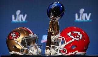 San Francisco 49ers play Kansas City Chiefs in Super Bowl LIV