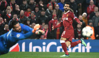 Mohamed Salah, Champions League