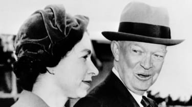 Dwight D. Eisenhower and the Queen