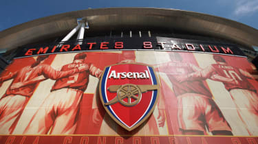 Arsenal play their home matches at the Emirates Stadium