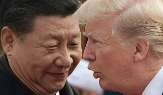 Chinese Premier Xi Jinping and Donald Trump