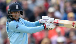 England's Joe Root in action during the Cricket World Cup