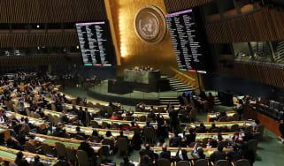 The UN General Assembly votes to condemn Trump's stance on Jerusalem