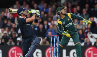 Kevin Pietersen strikes out