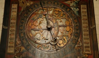 The astronomical clock at the Cathedral Church of Saint Paul