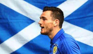 Andy Robertson Scotland captain