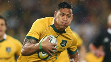 Australia rugby union star Israel Folau has had his contract terminated