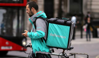 Deliveroo drivers are among millions of workers employed by the gig economy