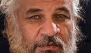 Sami Jasim Muhammad al-Jaburi shortly after being detained by Iraqi security forces
