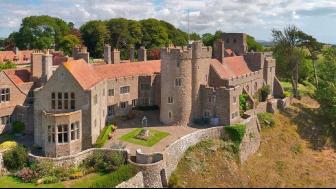 Kent: Lympne Castle, Lympne, Hythe