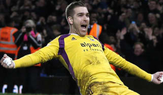 West Ham United's Spanish goalkeeper Adrian