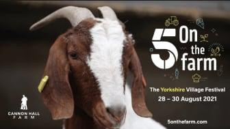 5 on the Farm Festival, Yorkshire
